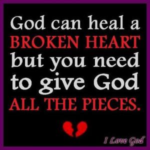 God Can Heal Broken Heart