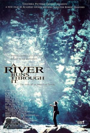 Poster: A River Runs Through It - Versión 1