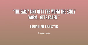 ... Norman-Ralph-Augustine-the-early-bird-gets-the-wormthe-early-62552.png