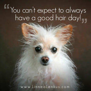 You can't always have a good hair day