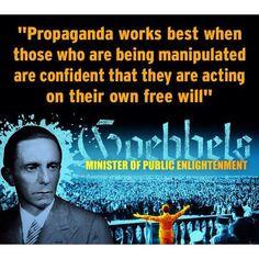 Quote by Joseph Goebbels - Nazi Propaganda Minister More