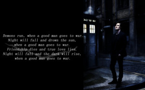 dr who,tardis,eleventh doctor,episode,quote)