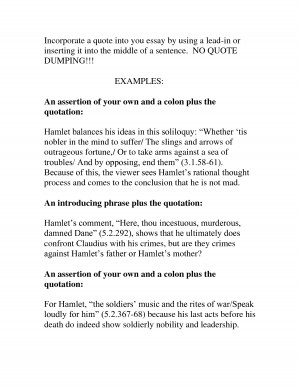 How to do an essay?