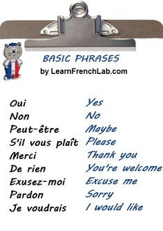 most common french phrases pdf