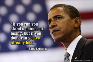 If you run ...