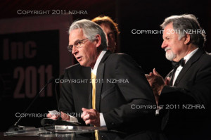 ... and pete chapouris mike currie daryl gates nzhra president daryl