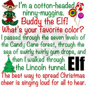 elf_movie_quotes_shower_curtain.jpg?color=White&height=460&width=460 ...