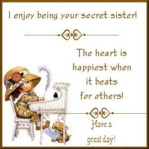 Secret Sister Ideas | Gifts From My Secret Sister
