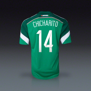 adidas Javier quot Chicharito quot Hernandez Mexico Home Jersey 2014