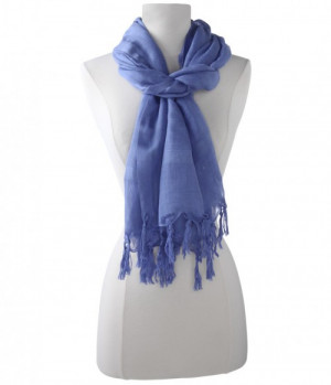 This is a knot tassel linen hand scarf from Love Quotes, a garment ...
