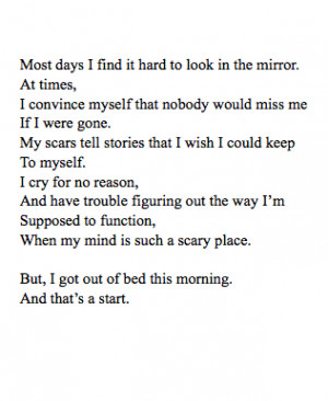 quotes depression poem poetry recovery sad depression recovery quotes ...