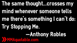 Anthony Robles Quotes