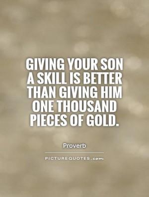 Son Quotes Parenting Quotes Proverb Quotes