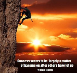 Success is the one unpardonable sin against our fellows. ~ Ambrose ...
