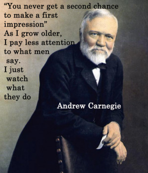 Andrew Carnegie About human values | Quotes About Life