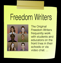 freedom writers book Freedom writers: express yourself discussion guide a facilitator's discussion guide for youth leaders, educators and families to accompany the book and movie, freedom writers.
