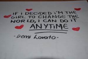 Demi Lovato's Quote by HeartANGELfied