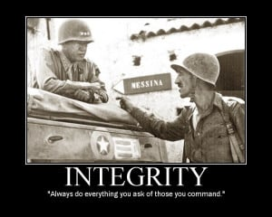 """... confidence; and no confidence, without integrity"""" – Samuel Johnson"""