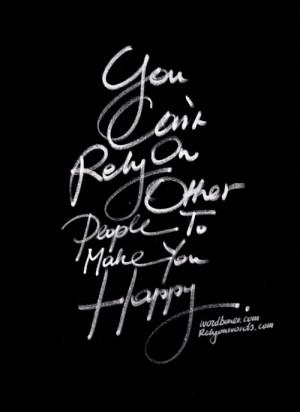 artistic, happy, inspirational, quotes, typography, wordboner