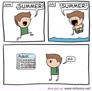 Summer Cartoon Funny Memes