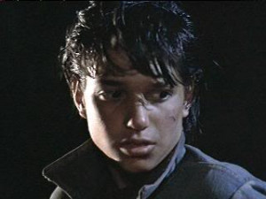 Ralph Macchio as Johnny Cade in The Outsiders movie