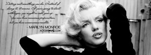 marilyn monroe quotes facebook covers