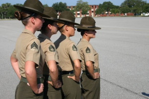 Marine Drill Instructors MCRD by godlived