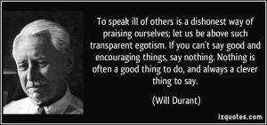 More Will Durant Quotes