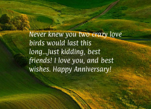 Anniversary quotes for husband funny