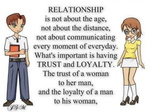 relationship quotes trust and loyalty relationship quotes trust and ...