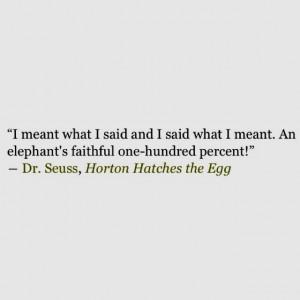 Love Horton the Elephant!!