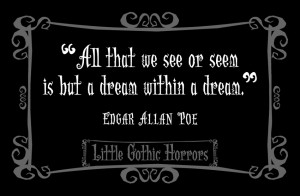 Book Quote Edgar Allan Poe...