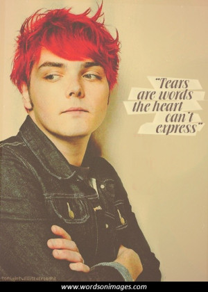 in collection my chemical romance quotes
