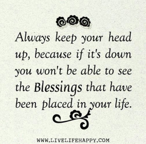 Blessing QuotesBlessed, Words Of Wisdom, Life Quotes, Stay Positive ...