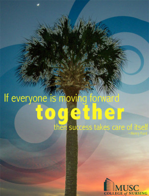 Inspirational Quotes for Nurses - Working Together