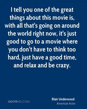 Blair Underwood Quotes