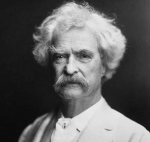 Famous People Who Are Color blind: Mark Twain
