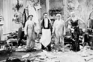 more or less replaced Thelma Todd with the Marx Brothers in the movie ...