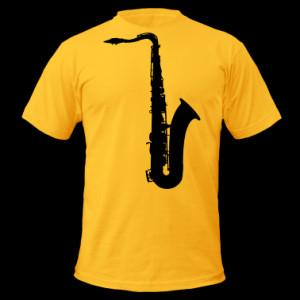 music saxophone brass T-Shirts