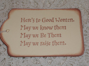 Strong Black Woman Quotes And Sayings Good women gift tags - here's
