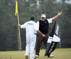 Great sportsman: Angel Cabrera contributed to a memorable Masters