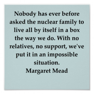 margaret mead quote poster