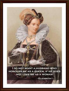 Queen+Elizabeth+I+Famous+Portrait++Quote+Poster+Print++by+POTAPOTA,+£ ...