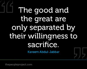 The People Project | Sports - Sports Quotes