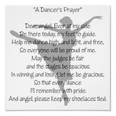 Dancer's Prayer