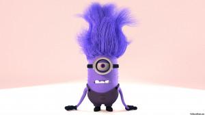 Purple Minion Angry