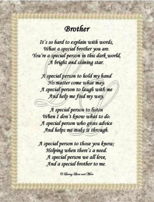 Brother From Sister Poems | Website Designed by Loving Lines and More ...