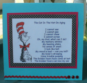 Dr. Suess on Aging