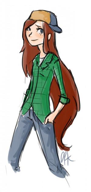 Wendy Gravity Falls Deviantart