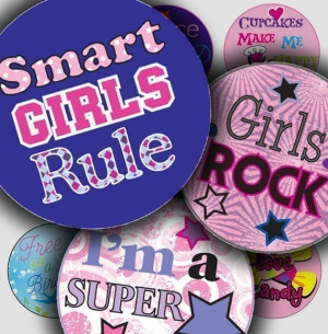 COOL ROCKIN TWEEN GIRL QUOTES - - DIGITAL COLLAGE SHEET - PEACE LOVE ...